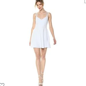 French connection whisper strappy stretch dress